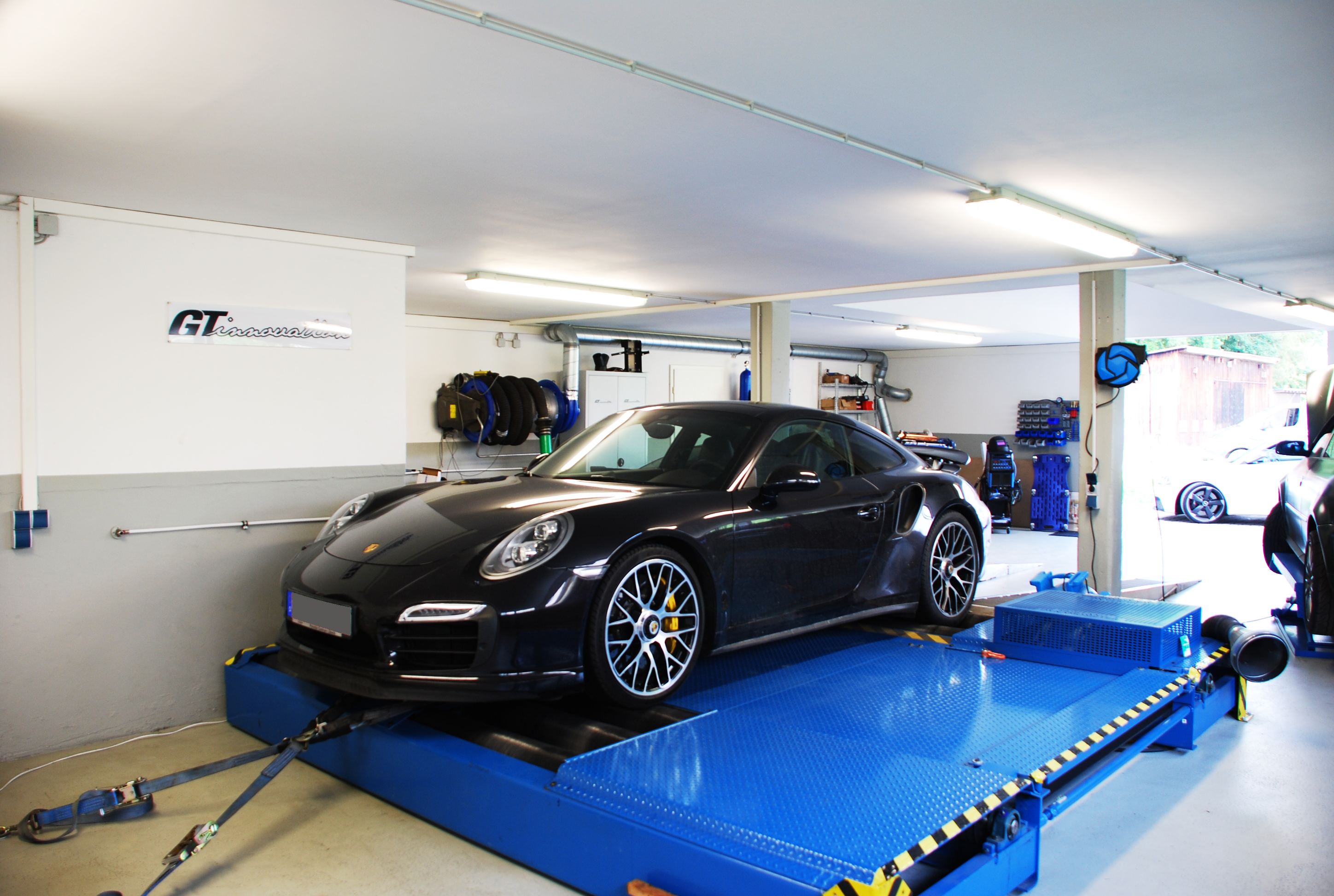 Porsche 991 Turbo S PDK 635Ps — GT-innovation