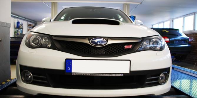 2008 Subaru Impreza Wrx Sti 353Ps stage 1