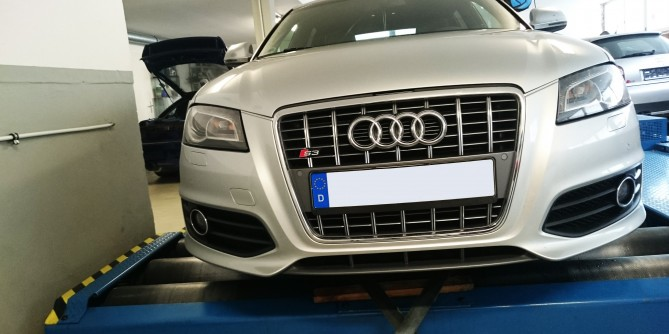 Audi S3 8p Stage 1 304ps  U2014 Gt