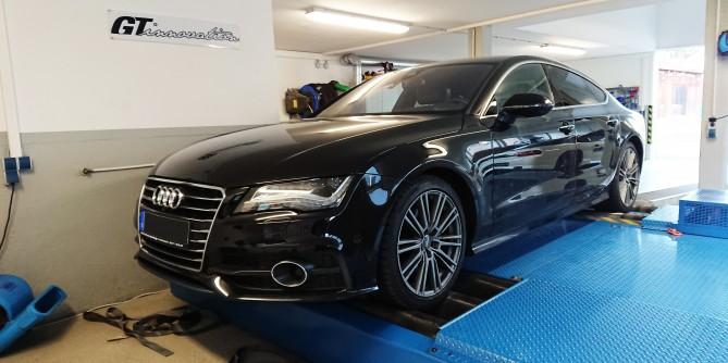 Audi a7 3.0l TDI 241 ps 457Nm stage1