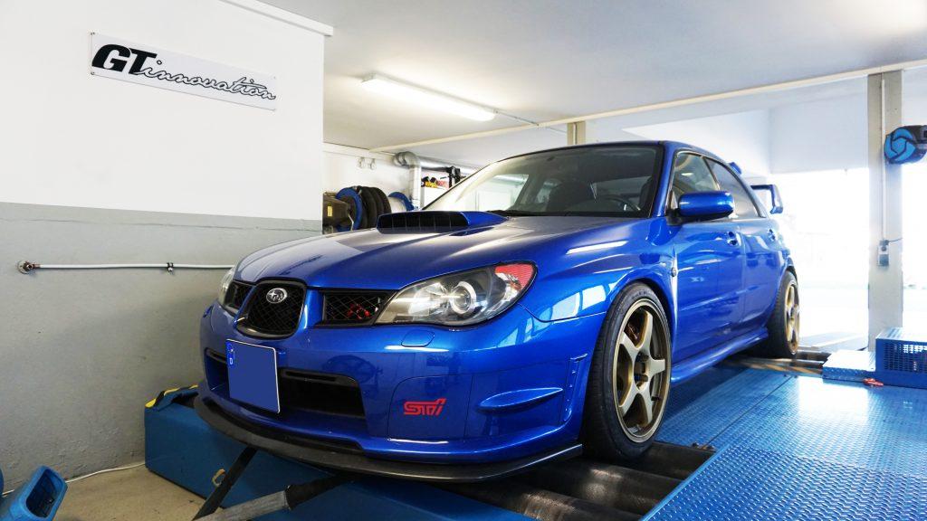 Subaru impreza Wrx Sti Hawkeye Stage 1 340Ps — GT-innovation