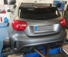 Mercedes A250 stage 2 263PS 446Nm