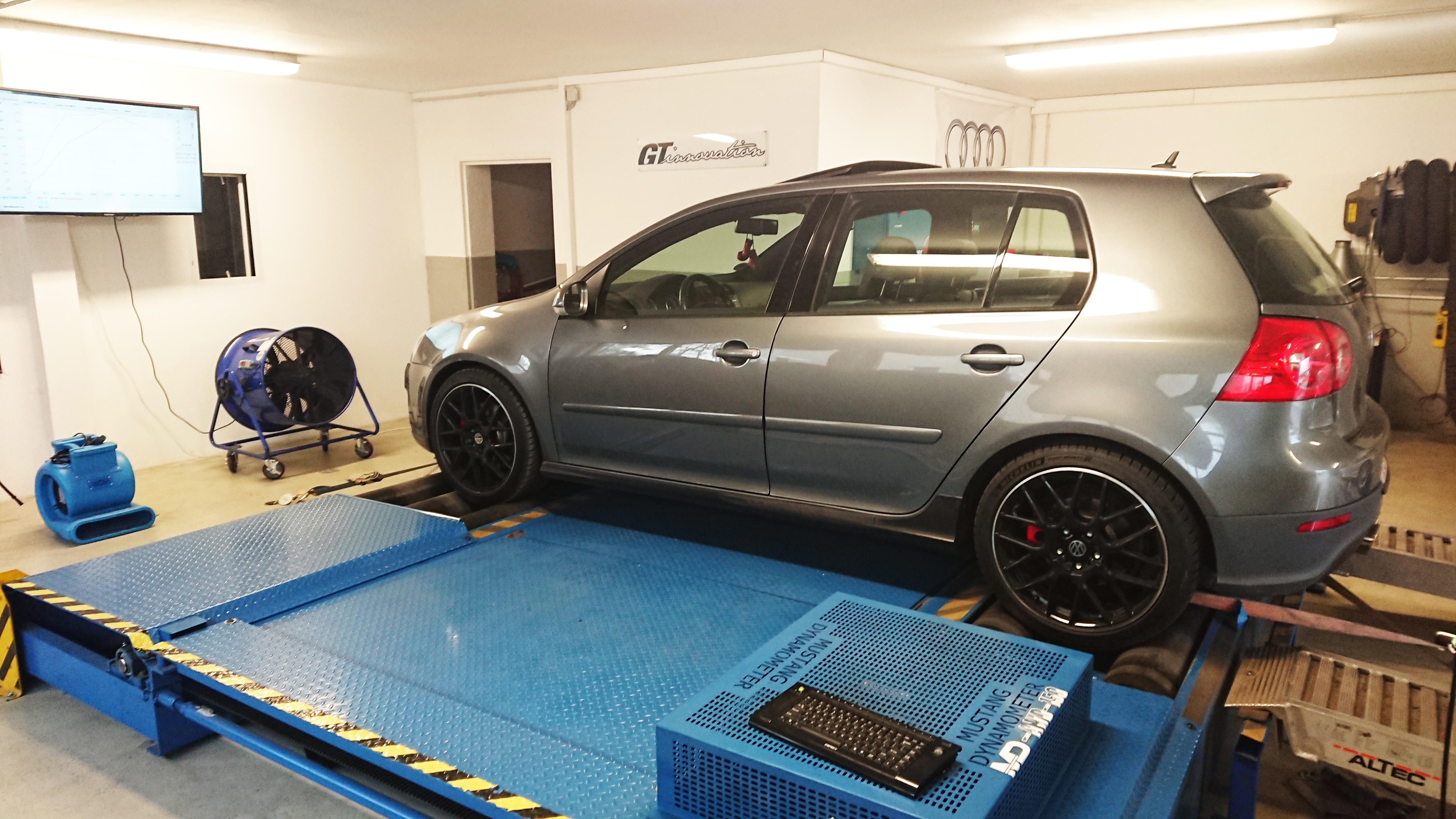 Vw Golf 5 GTI DSG Stage 1 253Ps 352nm — GT-innovation