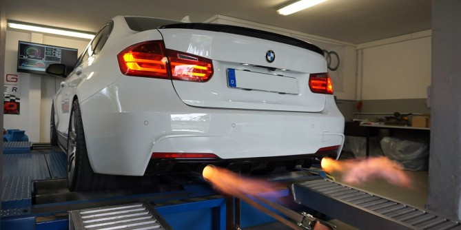 BMW 335 F30 Stage 1+396Ps 568Nm