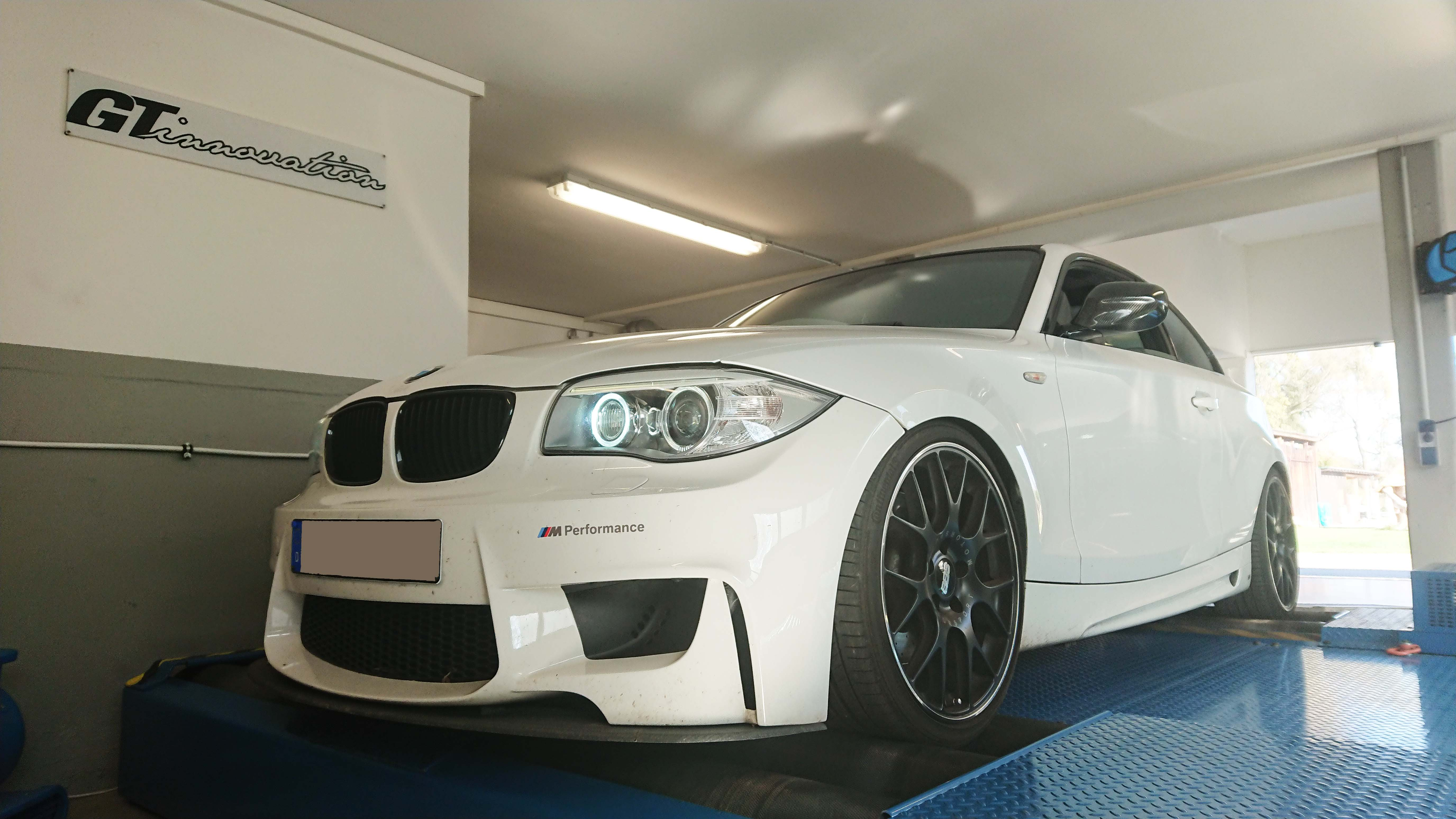 BMW M 135 N55 E82 405Ps 616nm stage 2 — GT-innovation