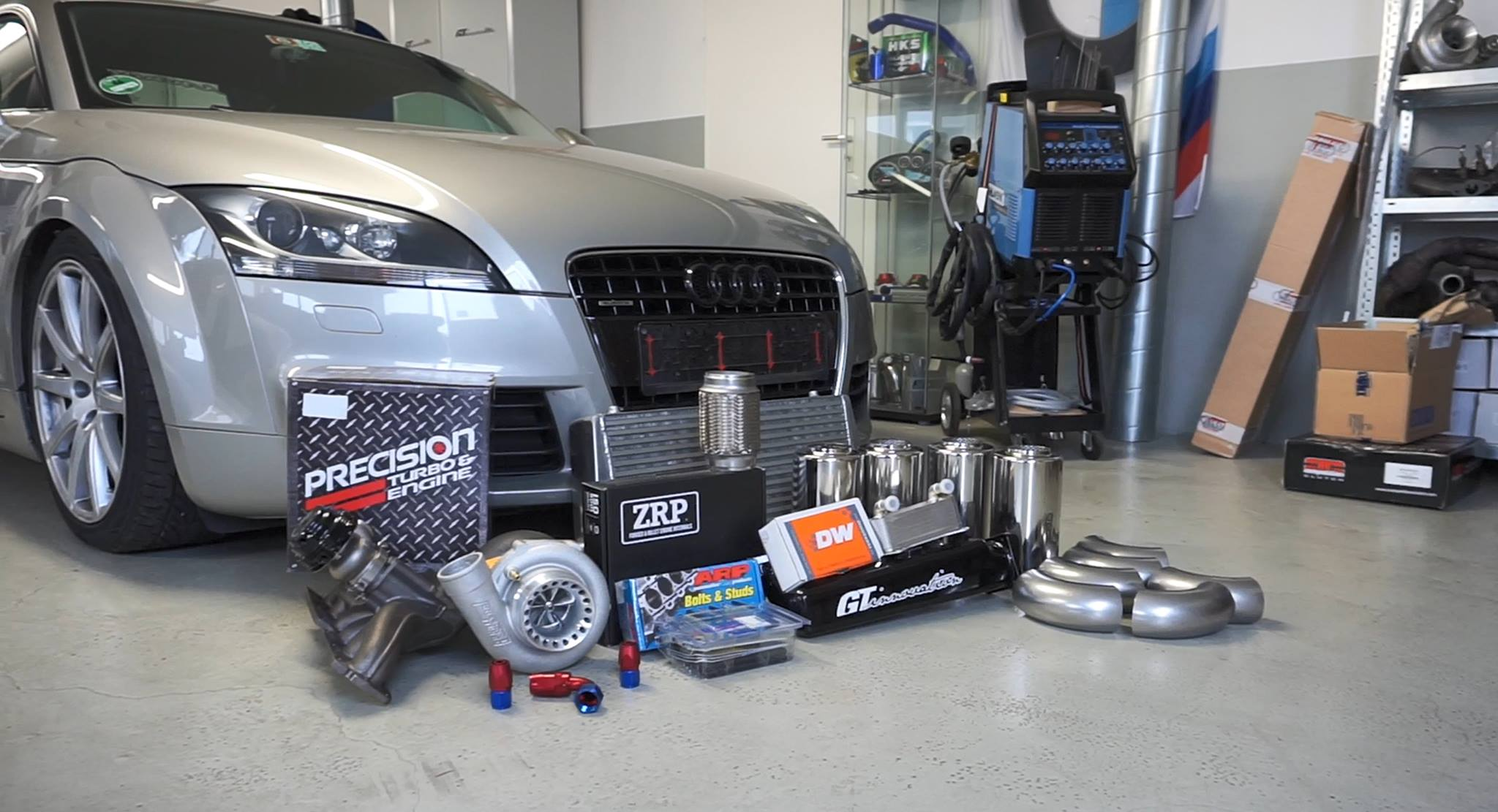 Audi TT 3 2 Turbo Project — GT-innovation