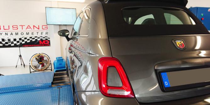 Fiat Abarth 595 Competizione stage 1