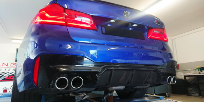 BMW M5 F90 Stage 1 738ps